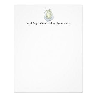 White Rose #1 Customized Letterhead