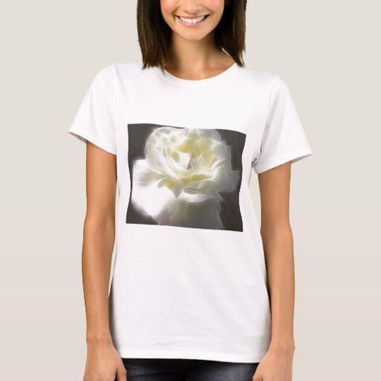 White Rose 2 Macro Angelic T-Shirt