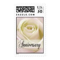 White Rose Anniversary Stamp