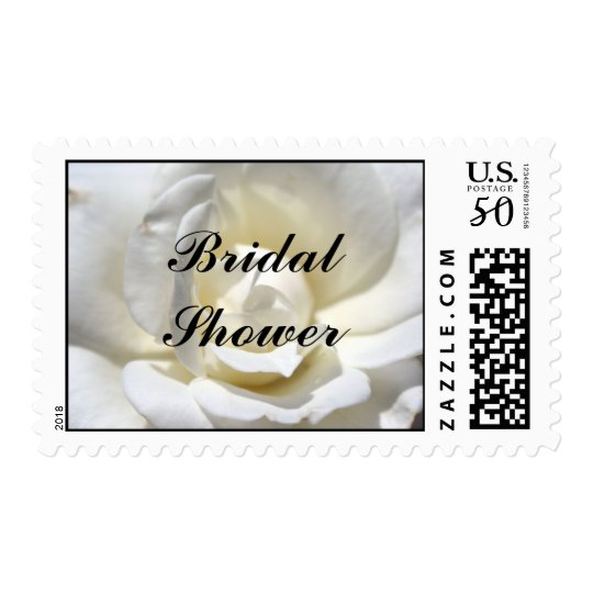 White Rose, Bridal Shower Postage