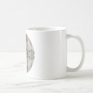 White Rose Bubbles Classic White Coffee Mug