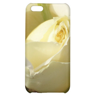 White Rose Bud i CricketDiane Designs iPhone 5C Cover