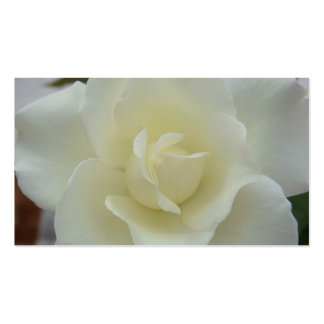 White Rose Business Card- Standard
