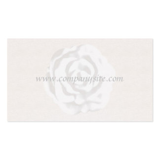 White Rose Business Card Template