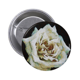 White Rose Button