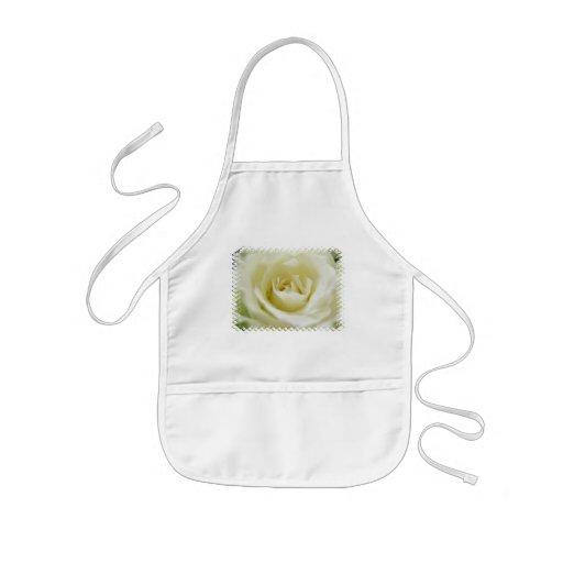 White Rose  Children's Apron