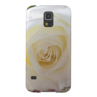 White Rose closeup Galaxy S5 Cover