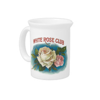 White Rose Club Drink Pitcher