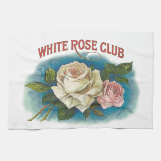 White Rose Club Hand Towels