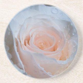 White Rose Coaster coaster