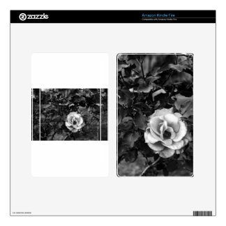 White Rose Collection Kindle Fire Skin