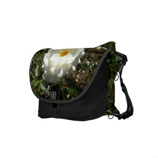 White Rose Commuter Bag