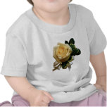 White Rose Corsage Infants Shirt
