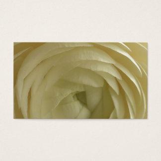 white rose custom personalize Anniversaries Business Card