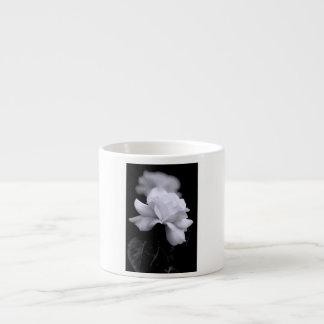 White Rose Espresso Cup