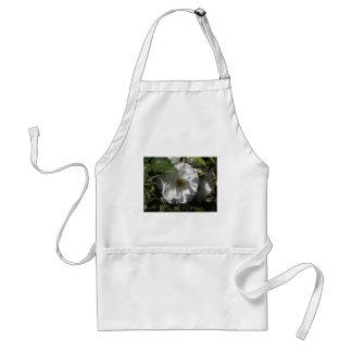 White rose flower aprons