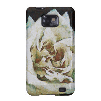 White Rose Galaxy S2 Cover