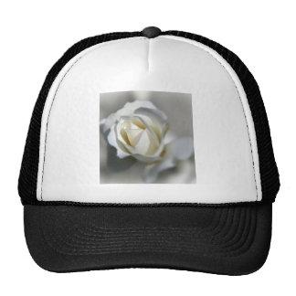 White Rose Garden Flower Beautiful Trucker Hat