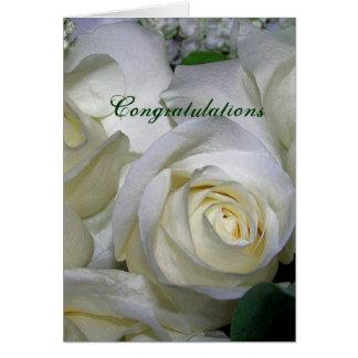 White Rose_ Greeting Card