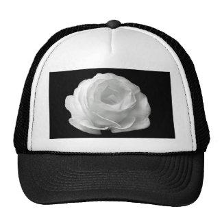 White Rose Hat