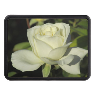 White Rose Hitch Cover