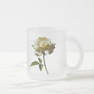 White Rose in Sushine Coffee Mugs