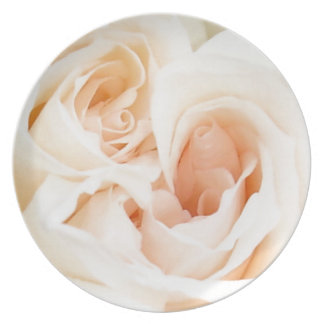 White Rose: Innocent and Pure Love Party Plates