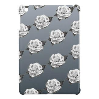 white rose iPad mini covers