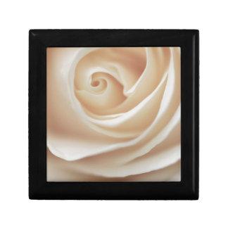 White Rose Jewelry Box