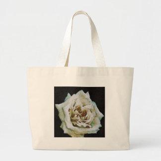 White Rose Large Tote Bag