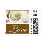 White Rose Love Stamps