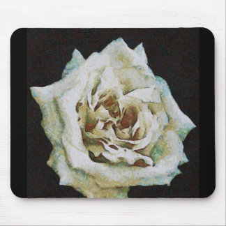 White Rose Mousepads