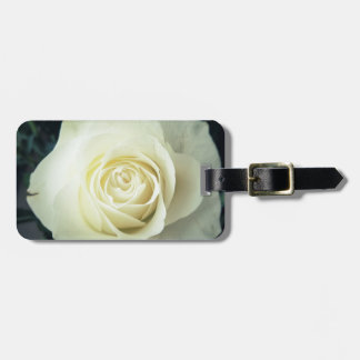 White Rose Mug Luggage Tag