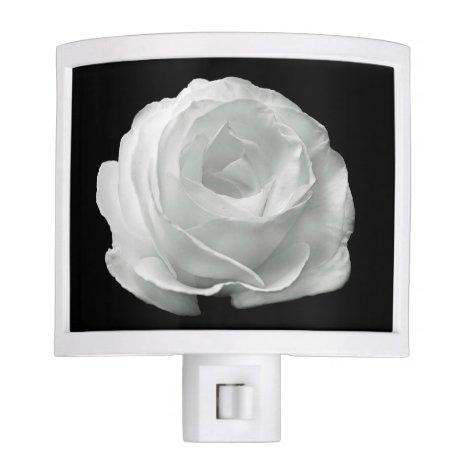 White Rose Night Light