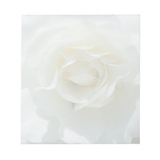 White Rose Notepad