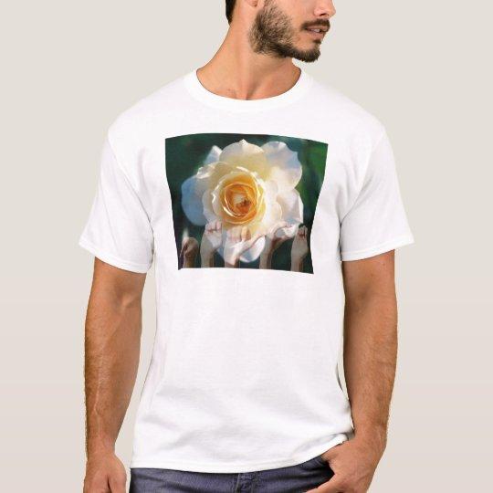 White Rose of  Peace - ASL T-Shirt