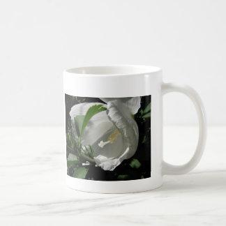 White Rose of Sharon Classic White Coffee Mug