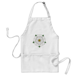White Rose of York Apron