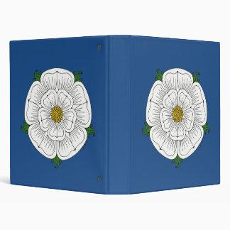 White Rose of York Binder