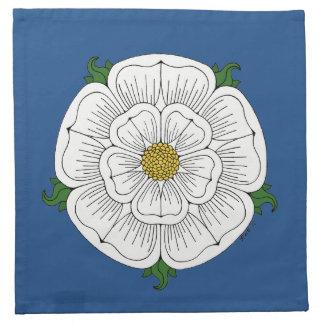 White Rose of York Cloth Napkin