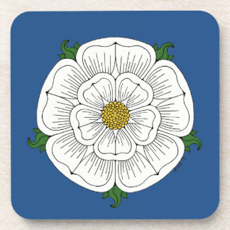 White Rose of York Coaster