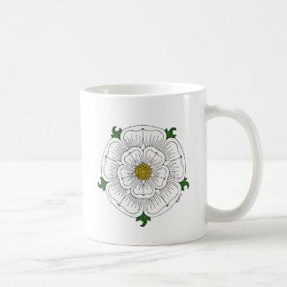White Rose of York Coffee Mug