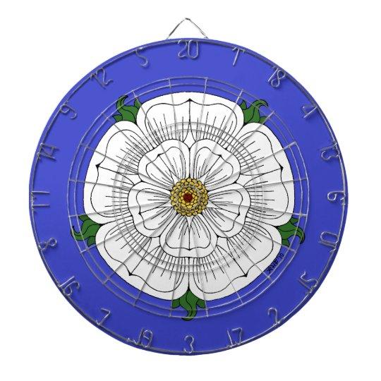 White Rose of York Dart Board