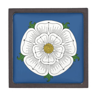 White Rose of York Gift Box