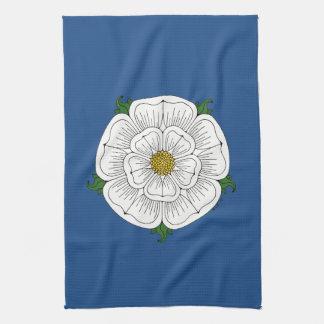 White Rose of York Hand Towel