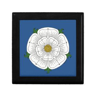 White Rose of York Jewelry Box
