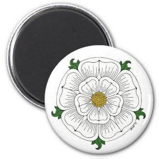 White Rose of York Magnet