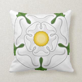 White Rose of York Pillow