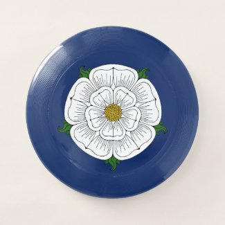 White Rose of York Wham-O Frisbee