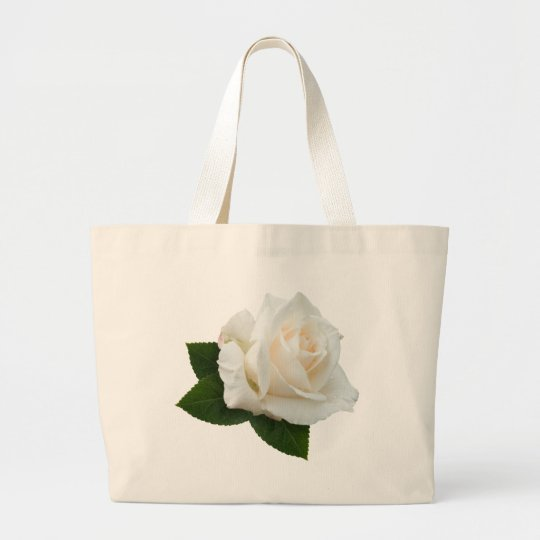 White Rose 'Pascali' Large Tote Bag
